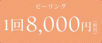 1回8000円